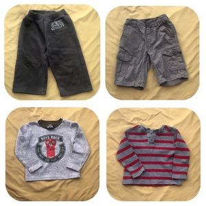 Other - 2 Pants & 2 Shirts Bundle Boys 24 Months